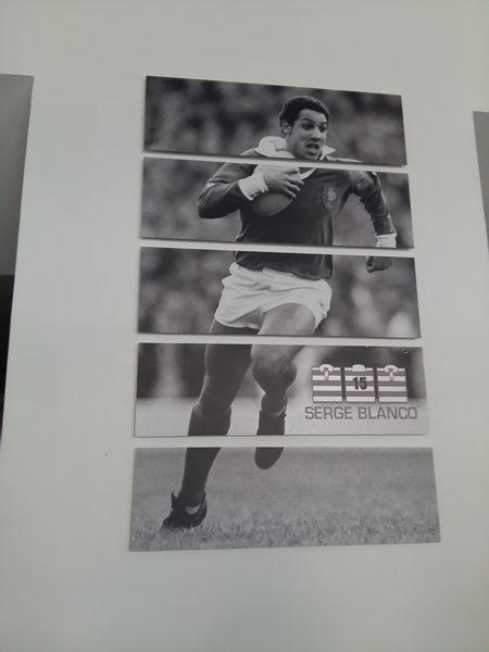 Tableau magnétique de rugby 20 Châteaugiron (35)