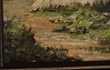 Tableau maisons en bord de mer 113cm X 63cm Décoration