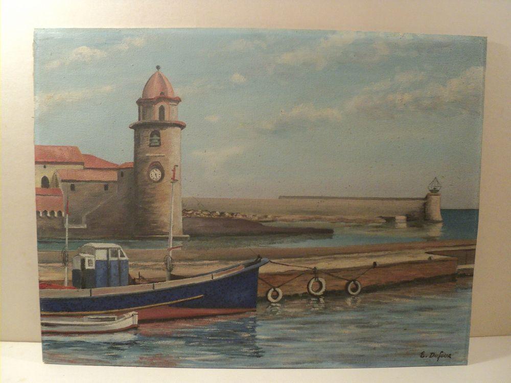 Tableau Marine Paysage Marin Phare de Collioure  80 Collioure (66)