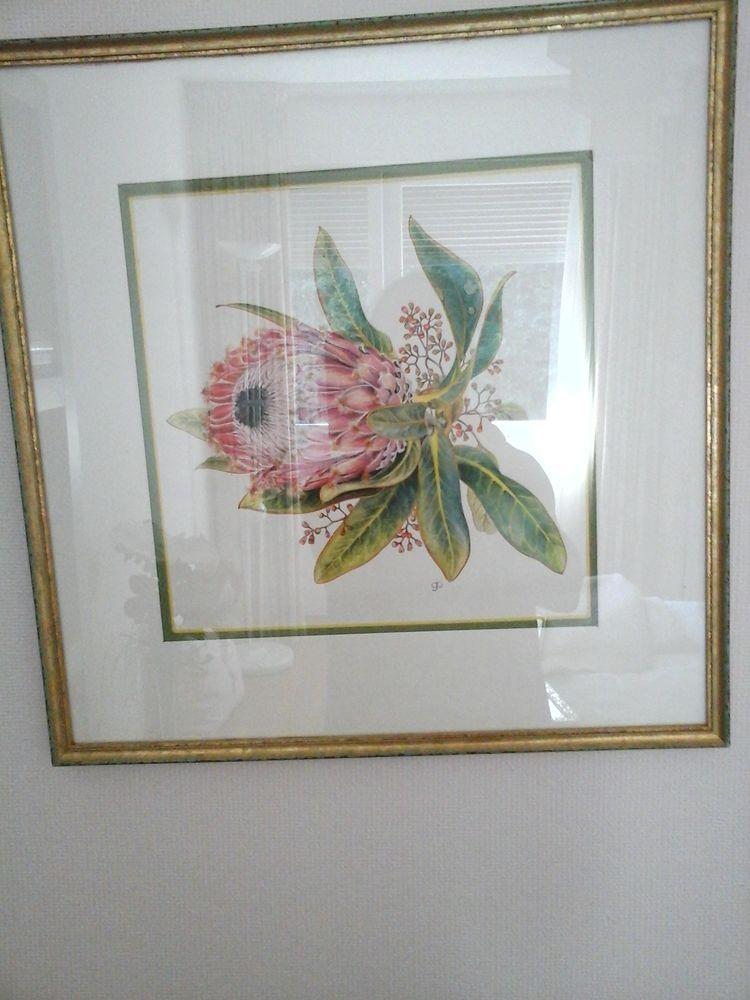 TABLEAU - motif floral NEUF 15 Hyères (83)