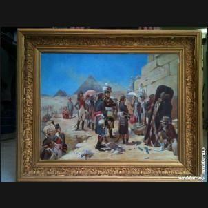 Tableau Napoléon Bonaparte campagne d'Egypte  150000 Sète (34)