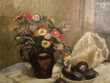 Tableau Nature Morte au Bouquet de Fleurs .  Loches (37)