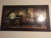 Tableau orchestre Jazz (Myles Sullivan) 50 Châtellerault (86)