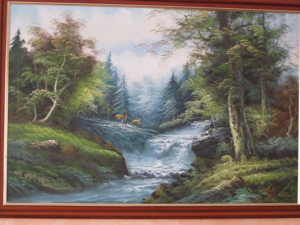 Tableau peint à la main 40 Denain (59)
