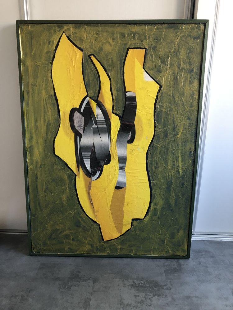 Tableau peinture abstraite  120 Gelos (64)