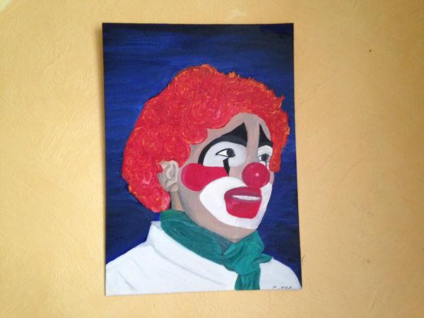 tableau peinture acrylique 110 Annecy (74)