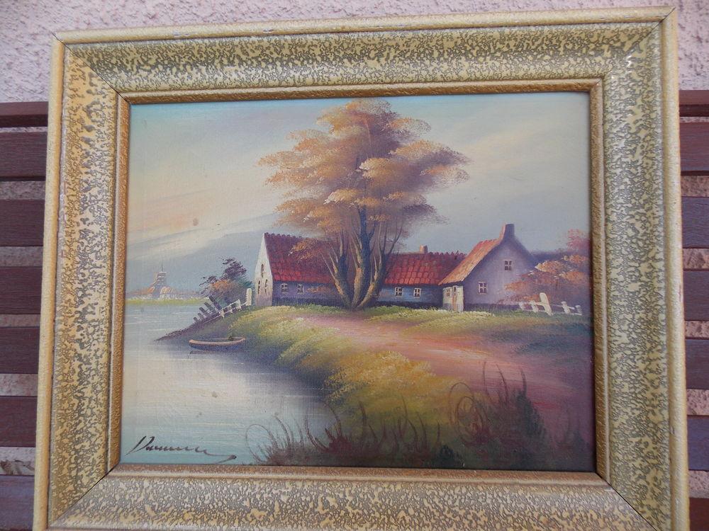 Tableau peinture huile sur toile 10 montpellier 34