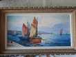 Tableau peinture à l'huile 50 Saint-Philbert-sur-Risle (27)