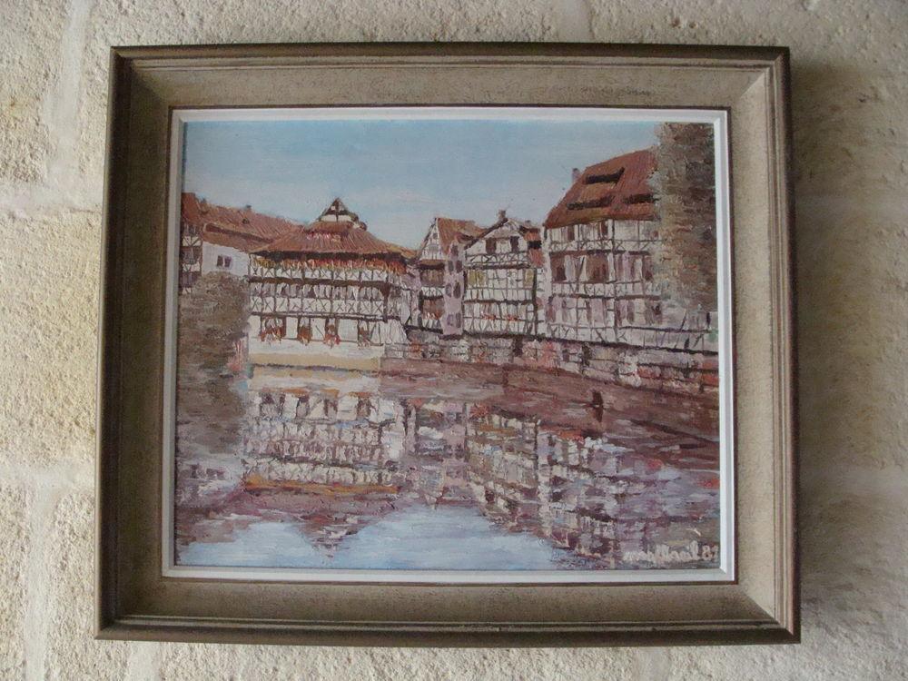 Tableau Peinture Strasbourg  La Petite France  30 Bordeaux (33)