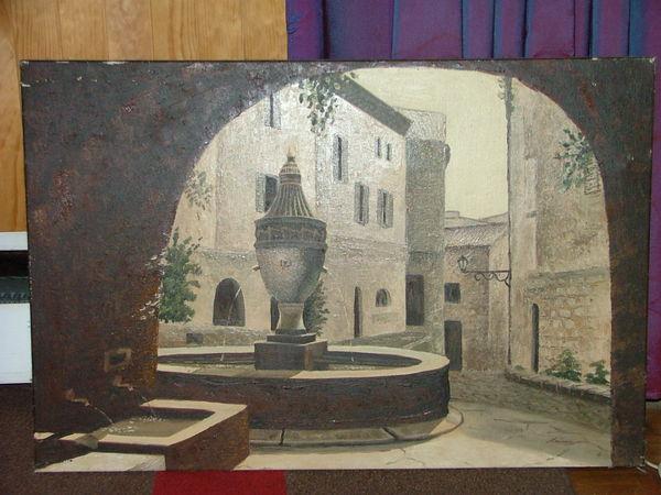 tableau  de Provence  165 Verneuil-sur-Seine (78)