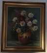 Tableau thème Fleurs de C. RIELLAND 58cm X 67cm Montreuil (93)
