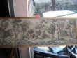 tableau tisse 50x148 encadre a la ferme