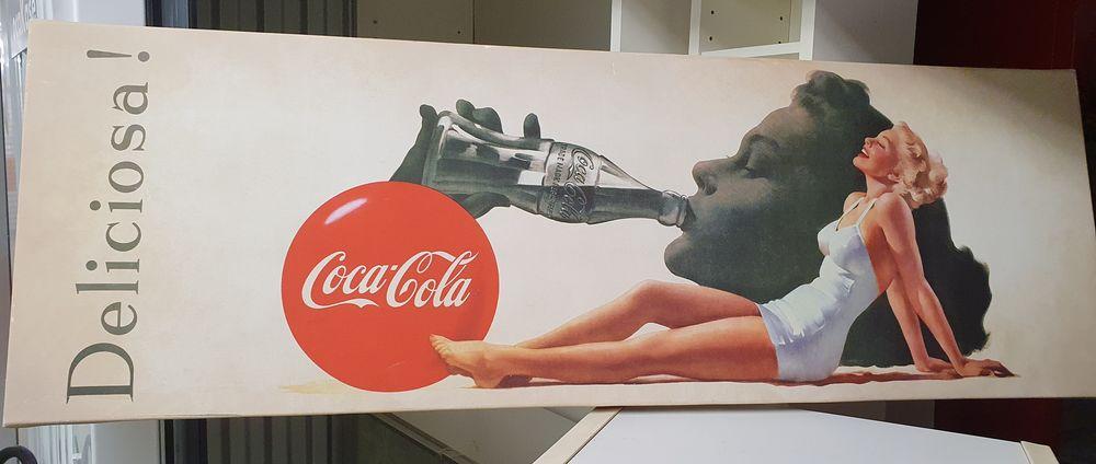 Tableau toile imprimée Coca Cola Glamour 12 Sulniac (56)