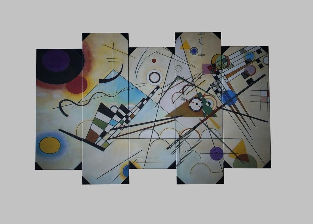 Tableau sur toile moderne Pop Art neuf 60 Sanguinet (40)