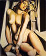 Tableau toile peinture TAMARA DE LEMPICKA ANDROMEDE Toile mo Marseille 13 (13)