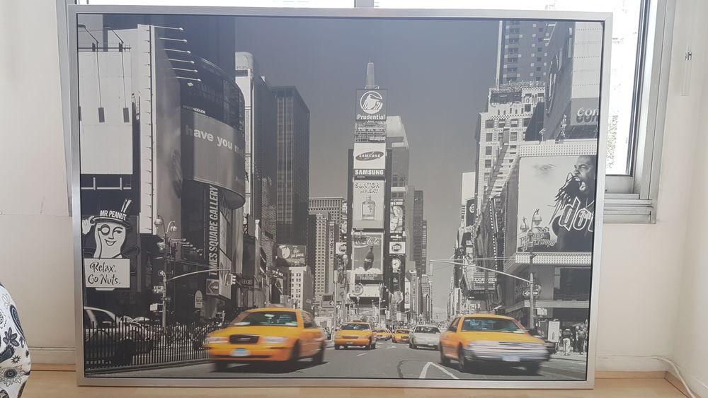 Tableau New York noir et blanc 15 Paris 12 (75)