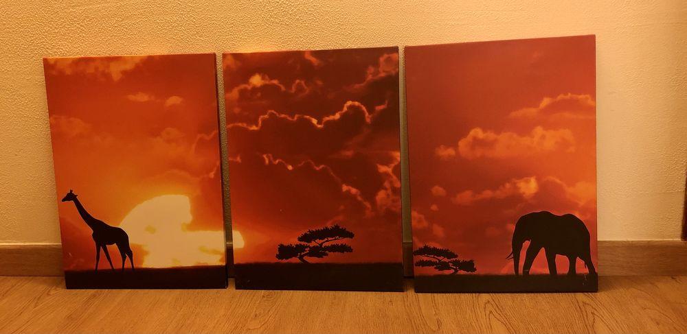 Tableaux cadres triptyque toiles  32 Magny-Cours (58)