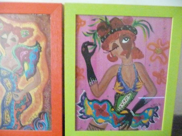 2 tableaux femmes