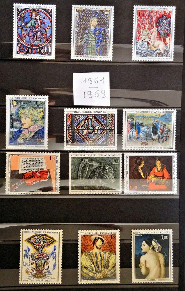 24 Tableaux France ** de 1961 à 1967