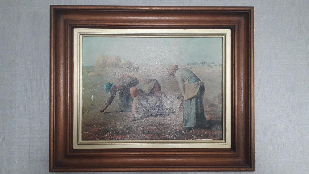 2 tableaux/huiles peintes J.F. MILLET. 35 Flers-en-Escrebieux (59)