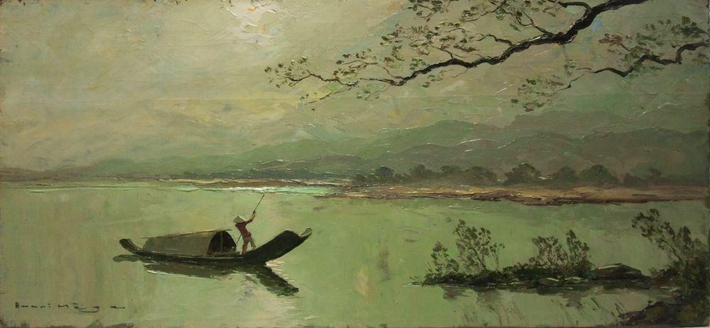 Tableaux peintre Henri Mège 0 Chambéry (73)