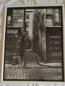 Tableaux photo rue de Paris 19ème siècle Noir 10 Villiers-sur-Orge (91)