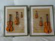 2 tableaux - thème: les violons.