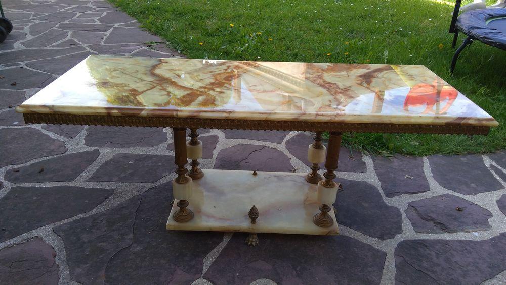ASM Table Basse Marron: : Cuisine & Maison