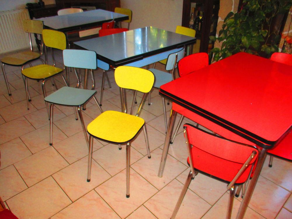 tables chaises et tabourets en formica vintage 28 Lingolsheim (67)