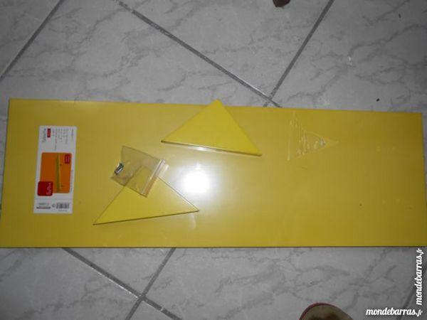 Tablette couleur citron 60 x 19 cm 3 Brest (29)