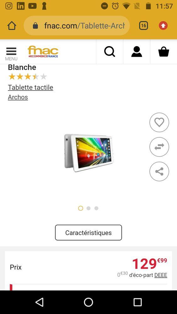 tablette 3G  10 pouces 80 Melun (77)