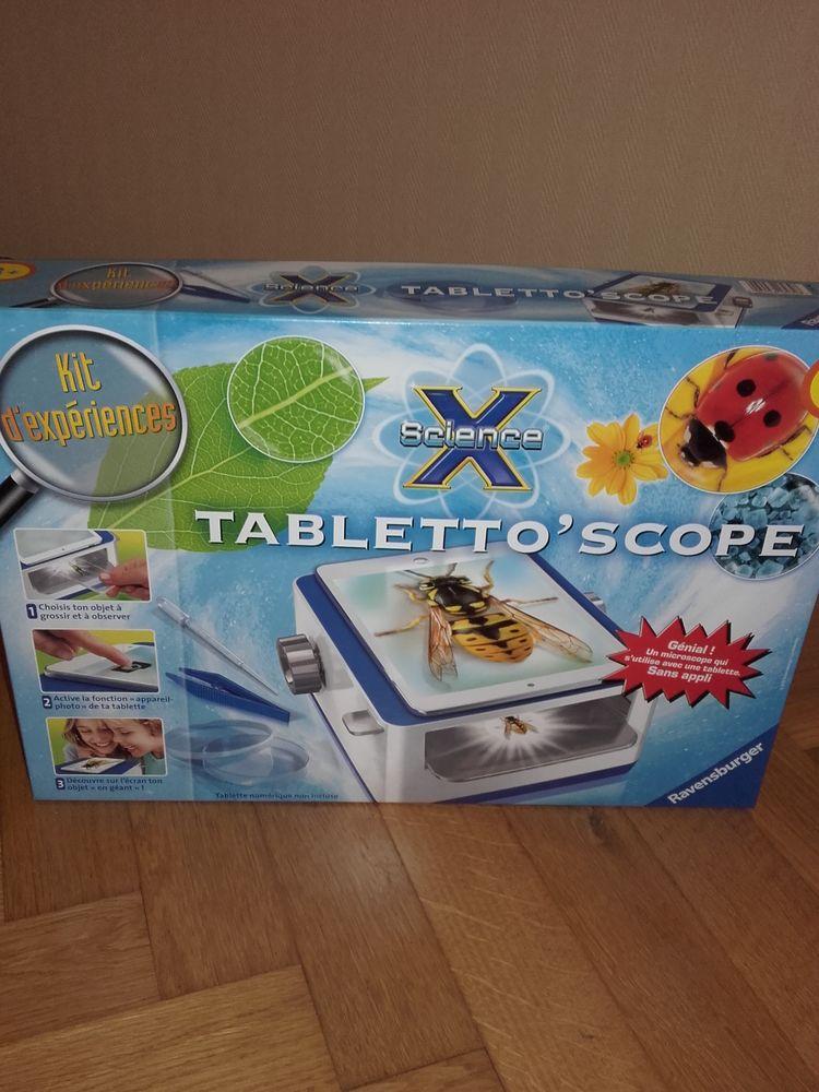 Tabletto'scope (jeu éducatif et scientifique) 20 Marmagne (71)