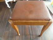 Tabouret en bois recouvert de simili cuir  25 Canet-en-Roussillon (66)