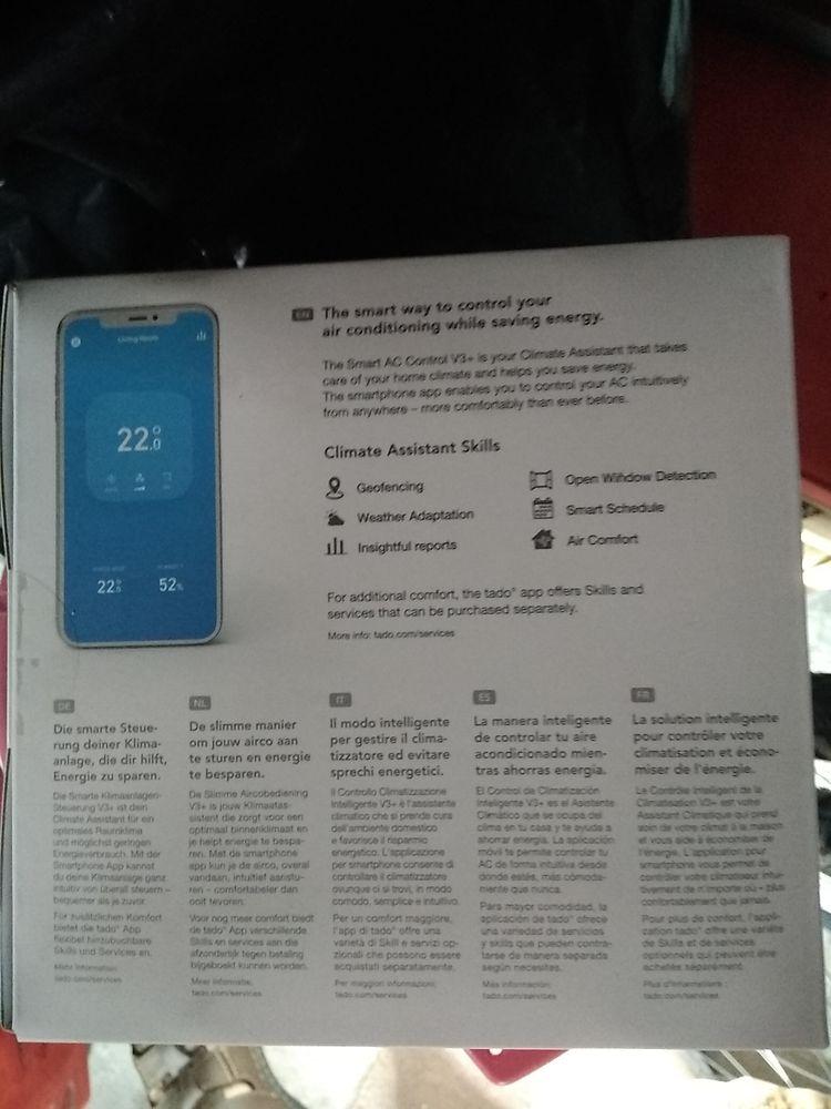 5 Tados pour climatisation intelligente  0 Conches-en-Ouche (27)