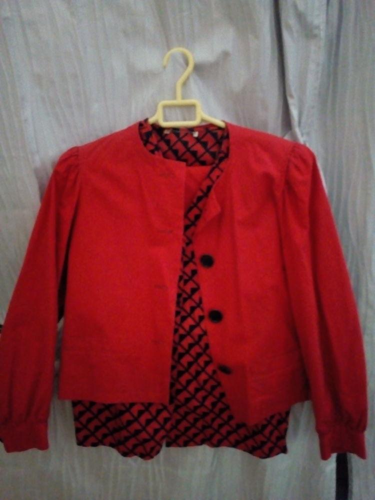 Tailleur jupe chemise taille 38 patchwork  15 Savigny-sur-Orge (91)