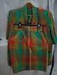 Tailleur jupe taille 38 à carreaux (tendance verte) Vêtements