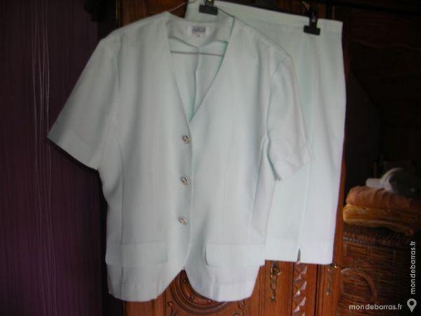 tailleur vert pâle taille 44 20 Laventie (62)