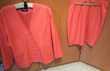 tailleur veste jupe fushia t3 Vêtements