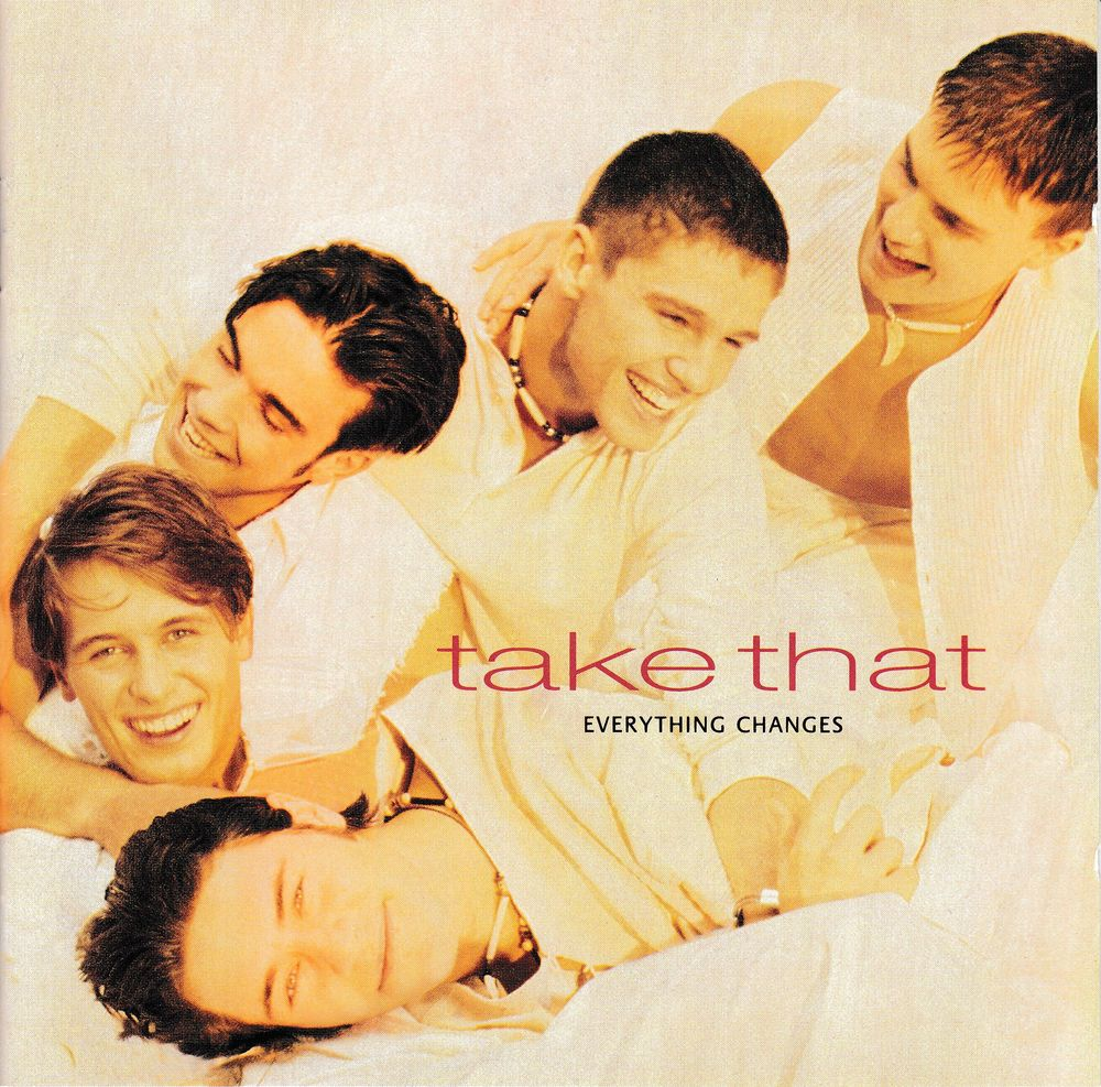 CD   Take That    Everything Changes 5 Antony (92)