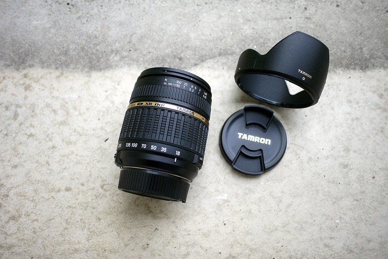 TAMRON 18-200 ASPHERICAL LD XR DiII AF f/3.5-6.3 (IF) MACRO 120 Dourgne (81)