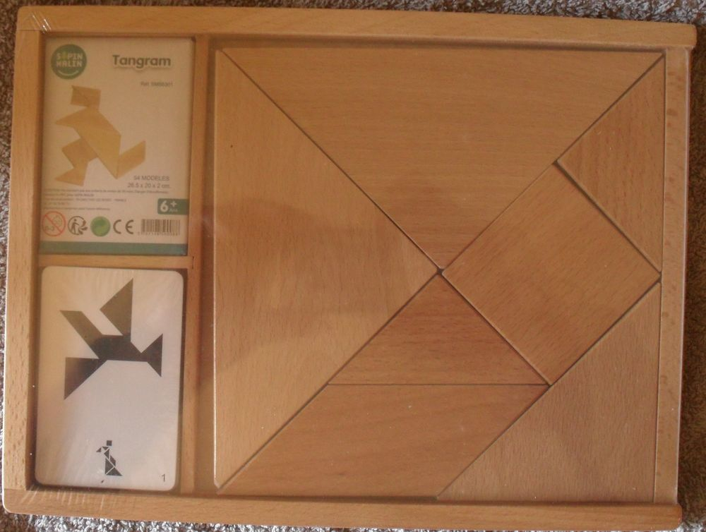Tangram NEUF (encore sous emballage) marque Sapin Malin 24 Montreuil (93)