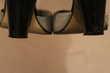 Tapez JM86 Sandale Kookaï à Lacet Noire et Argent 40 Chaussures