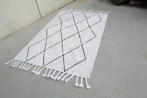 Tapis berbère en coton, très tendance : 140 x 200 cm 260 Paris 19 (75)