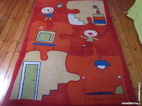 Tapis chambre enfants coin bureau ou salle de jeux 38 Saint-Varent (79)