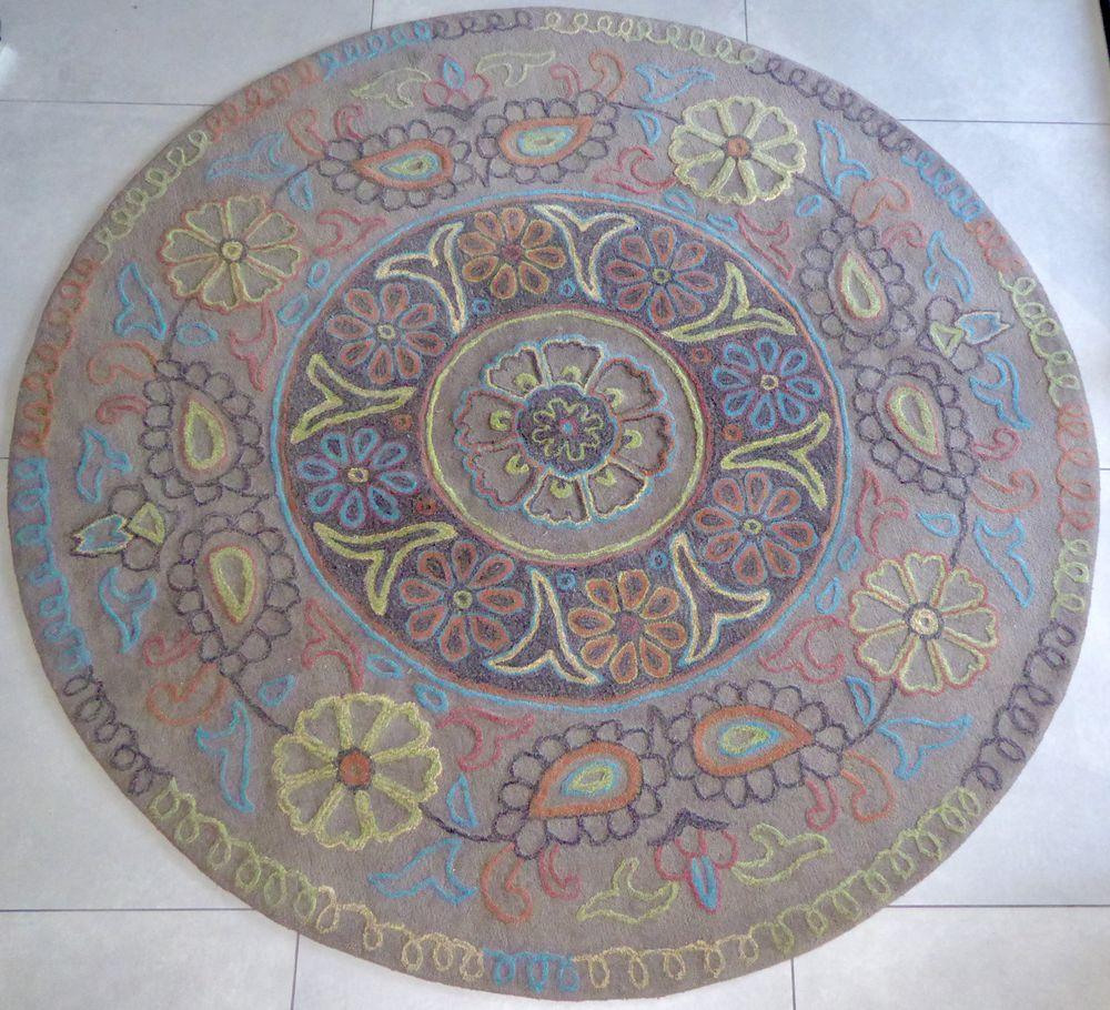 tapis esprit rond mandala 150 Andernos-les-Bains (33)