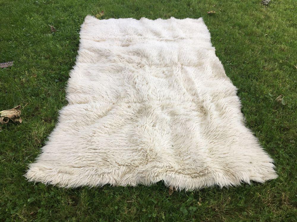 Tapis ivoire uni, en laine 15 Lisieux (14)