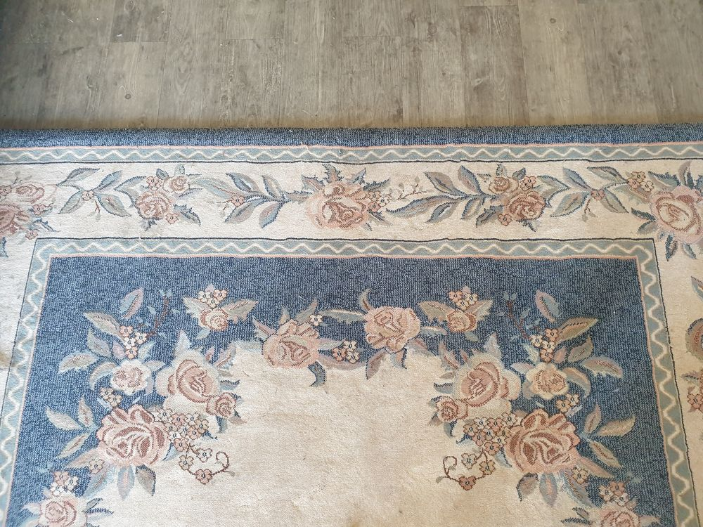 Tapis à motifs floraux grand et épais 0 Rennes (35)