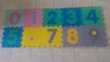 Tapis mousse puzzle avec nombres pour enfant