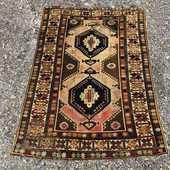 Tapis D'orient KUBA SHIRVAN Ancien 480 Nice (06)