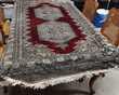 TAPIS ORIENTAL PAKISTAN LAINE/SOIE FAIT MAIN-187x125cm